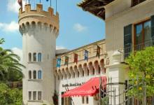Castillo-Spn-Vida-Außenansicht mit Turm