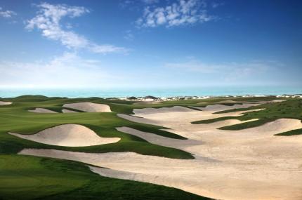 Golfurlaub ABu Dhabi-Saadiyat Island Golf