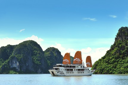 Goflreisen-Vietnam-Halong-Bucht-Paradise-Cruise