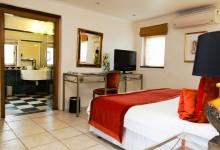 Grande-Roche-Garden-Suite-Schlafzimmer
