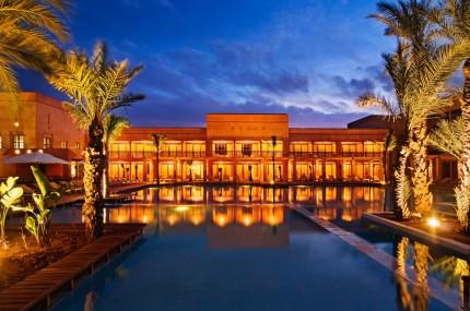 Hotel du Golf -Außenansicht