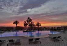ROBINSON-Club-Agadir-Pool-Sonnenuntergang
