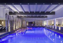 Spa & Hotel-Terme-Esplanade-Tergesteo-Pool-bei-Nacht