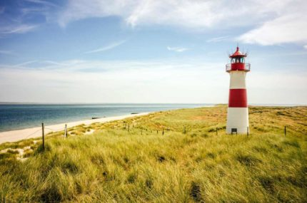 Leuchtturm in List (Sylt)