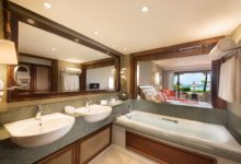 Constance-Belle-Mare-Plage-Doppelzimmer-Prestige-Badezimmer