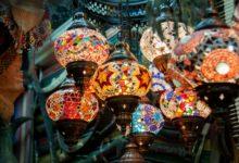 Oman-Muscat-MuttrahSouk-Lampen