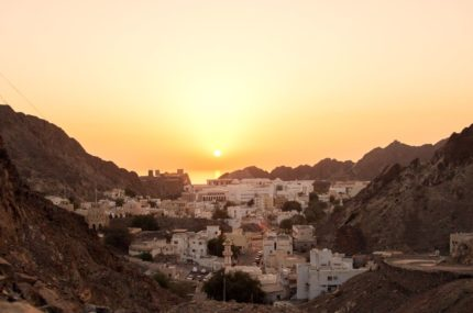 Oman-OldMuscat-Sunset